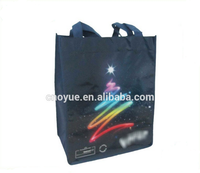 Fashion Laser Shopping Bag / Aluminum Foil Laser Pattern/
