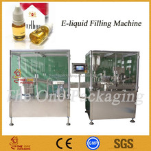 electronic cigarette ,e-liquid filling,stoppering and capping machine production line