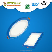 SYW 2014 hot sale ultra-thin led lighting glass wall panel exterior glass panel