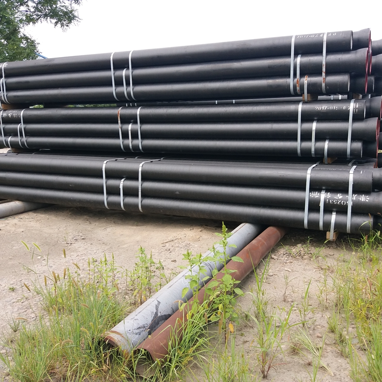 k9 cast iron manufacturers EN877 100mm ductile drainage pipe price