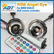 Auto manufacturer for bmw e60 rgb color led angel eyes auto led lamps