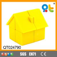 Educational toy puzzle 3d game magix cube house shape for kids brain development
