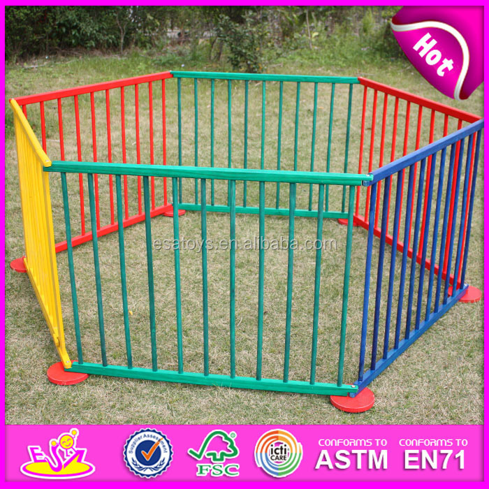 2016 hot sale wooden baby playpen,high quality wooden baby playpen,cheap wooden wooden baby playpen W08H006-M1