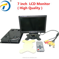 Factory price 7 inch super thin lcd monitor/tv screen for security use