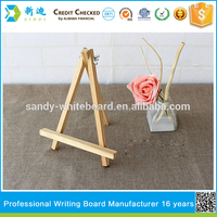 Lanxi xindi promotional small easel and Wooden Display Easel for kids