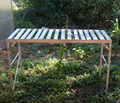 Aluminum Garden Greenhouse Staging / Shelving (1 Tier)