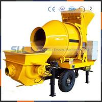 Concrete Mixer With Pump/callaghan concrete pump