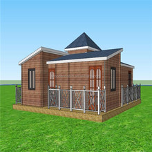 Low cost prefabricated house for sale