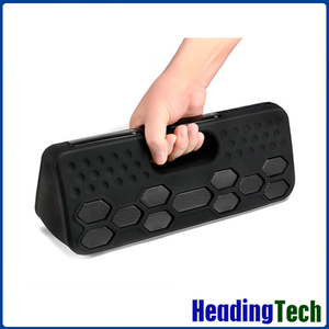 waterproof Bluetooth Speaker, 40W high powered heavy deep bass effect out door speaker with power bank function