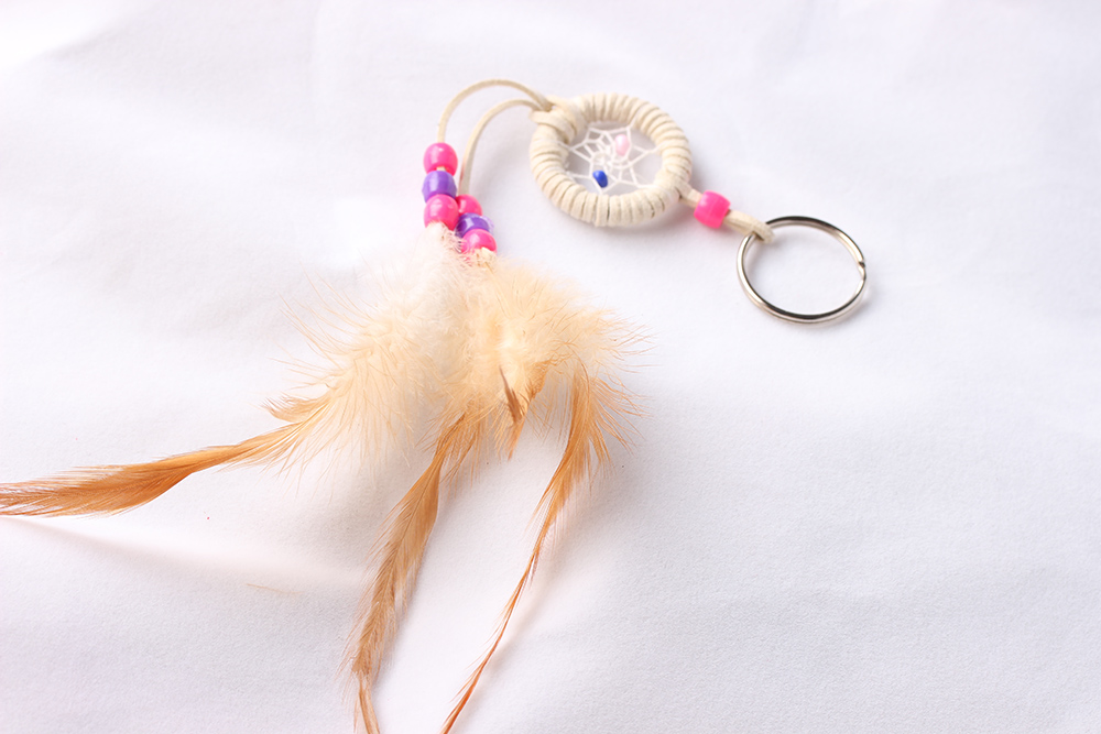 Lady bags decoration Dream Catcher Keyrings MS2003