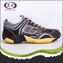 factory cheap price working safety rubber bottom shoes