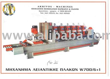 polishing machine marble 6 + 1w800