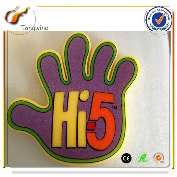 New hotsale special design novelty pvc inflatable cheer hand