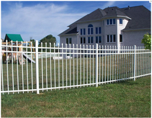 Iron stainless steel picket fence cheap Specialty Ornamental High Security Ornamental metal fence