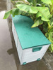 290L Garden storage box/Outdoor storage box/Plastic storage box with wheel