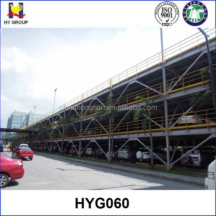 Vertical mechanical car parking system