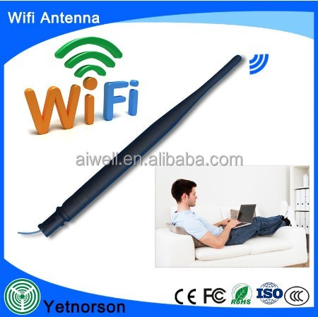 Free sample 1.13 cable IPEX UFL 2400 2500MHz indoor 5dbi high gain wifi antenna with factry price