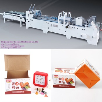GK--780/1050/1200G Corrugated Carton Folding Gluing Machine