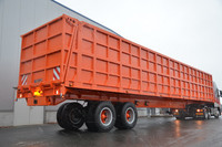 Heavy Duty Agricultural Trailer - 94 cbm. - 58 tons - (Off-Road)