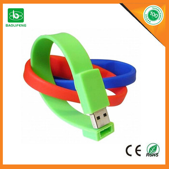 China alibaba flash drive bracelet usb flash drive