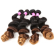 Alibaba certified 100% remy 8A ombre loose wave wholesale brazilian hair
