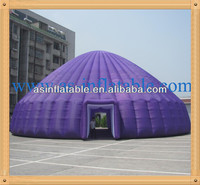 High quality blue inflatable tent big outdoor party tent