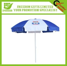 Outdoor Advertising Customized Windproof Beach Umbrella