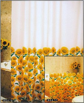 100% PEVA SHOWER CURTAIN
