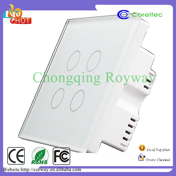 High precision smart phone control switch automated home systems remote control wifi Zigbee switches