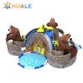 cheap inflatable water park,amusement park equipment for adults and kids