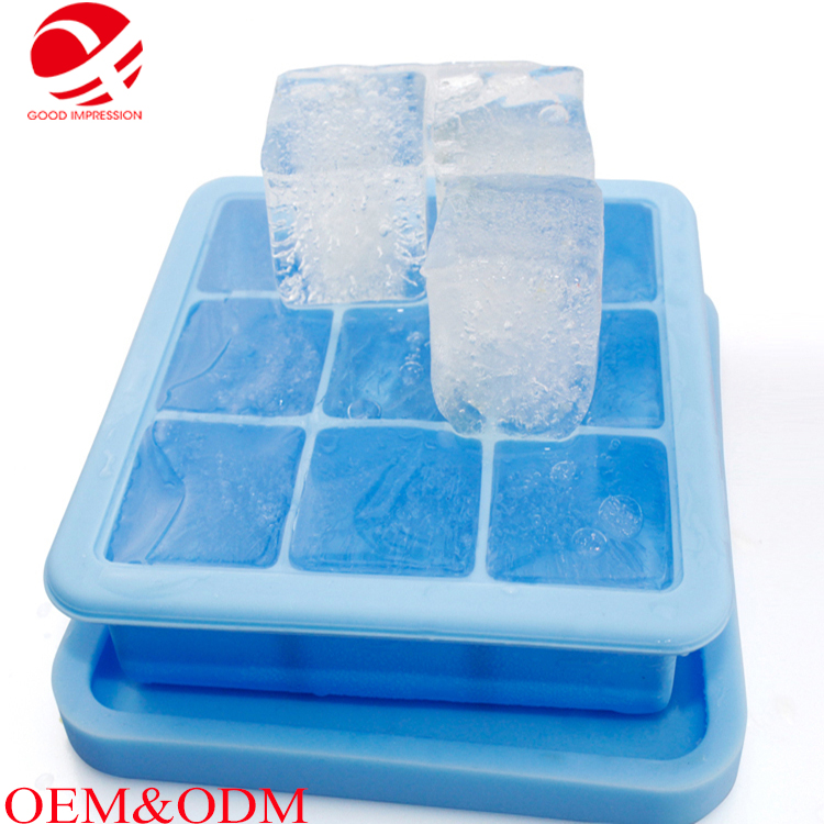 100% silicone material fish bone shaped ice tray With Good Service