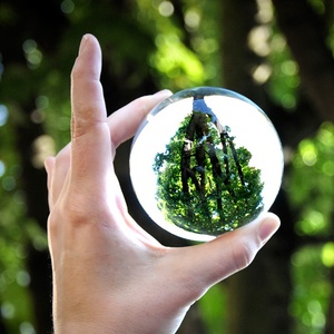 Wholesale K9 Crystal Glass Sphere Ball For Reflection Photography