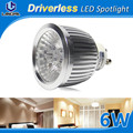 AC technology driverlss spotlight best price narrow beam ledspot gu 10 2700-3300k dimbaar