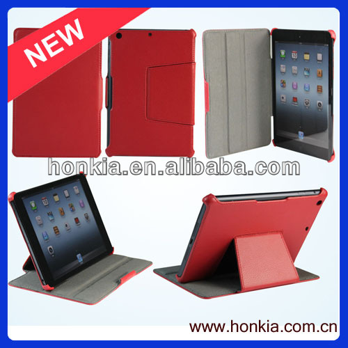 Newest hot sale pu 10.1 tablet case for ipad case ipad mini 2
