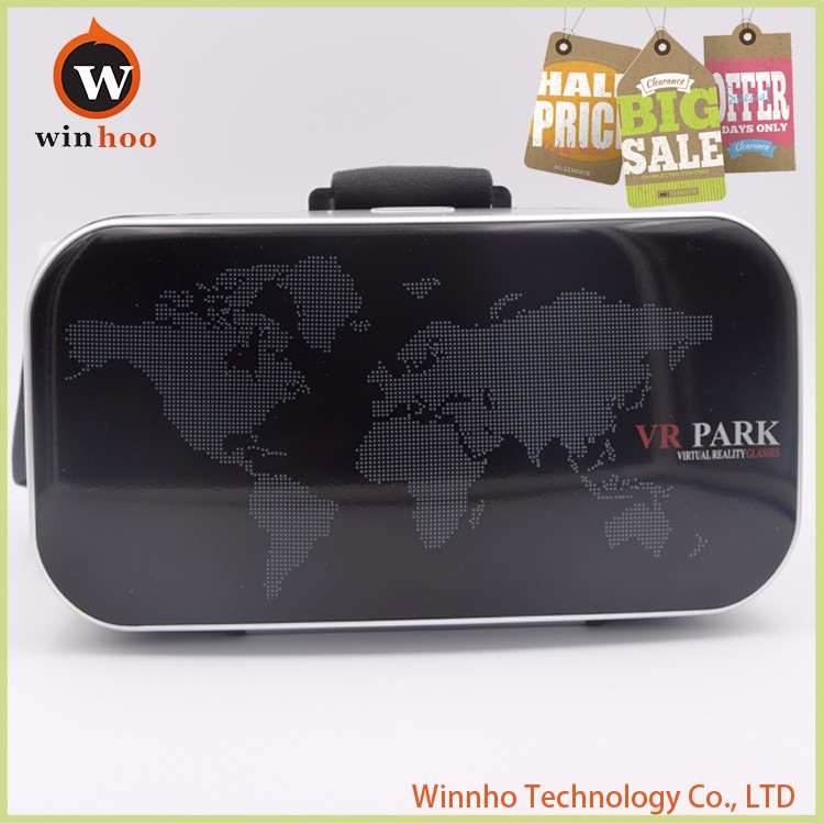 2016 trending products vr box glasses VR Park for blue film japanese video