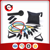 Black Mountain Products Resistance Band Set With Handles