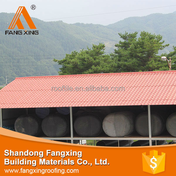 Hot Sale High Quality ecological roof tile , plastic tile roofing prices , ecological roof tile