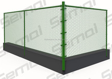 hot sale cheap used chain link fence for sale