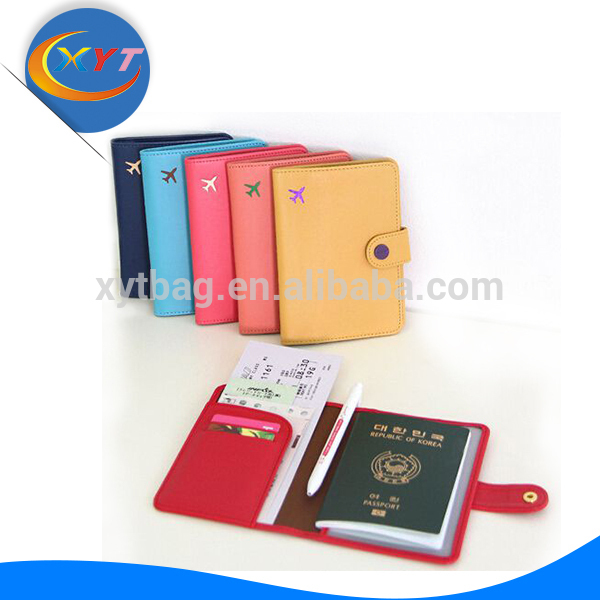 alibaba hotsale Newest travel document folder Passport Holder Female ticket holders