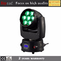 Guangzhou LED 7X15W 4inl RGBW zoom moving head for party and disco