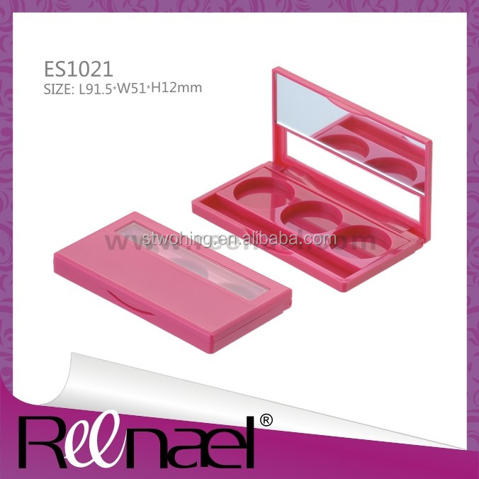 Cosmetic Magnetic Eye Shadow Palette case with different insert,fashion design
