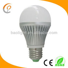Made In China 12V 220V 7W Cree Samsung 5630 A19 E27 Light LED Bulbs