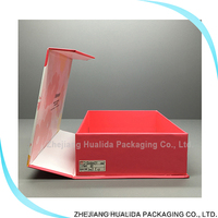 Wholesale China Merchandise Colorful foldable cosmetic packaging boxes