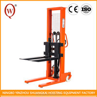 Industrial good quality 2Ton Hydraulic Forklift Manual Walking Stacker