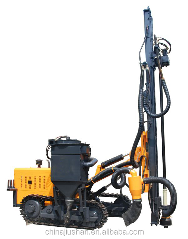 Manufacture Portable Auger Drilling Rig With Dust Collector