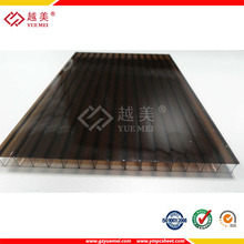 polycarbonate hollow roof sheet, frosted plastic PC panel
