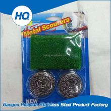 Mixed package stainless steel wire ball scouring pad