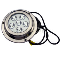 High power 18W IP68 LED marine light underwater boat/ship/pool lights made in China