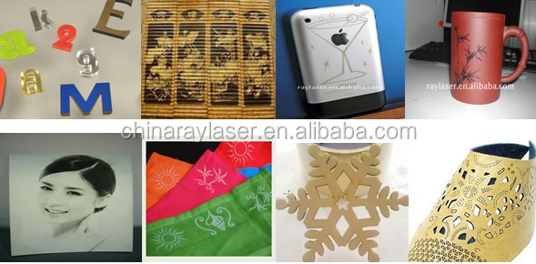 Samples of Laser engraving