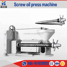 6YL-100 palm oil extraction machine/hot and cold screw oil press